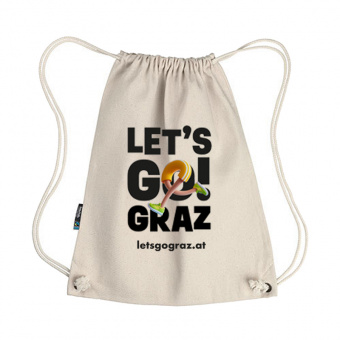Lets Go Graz Gymbag Natur