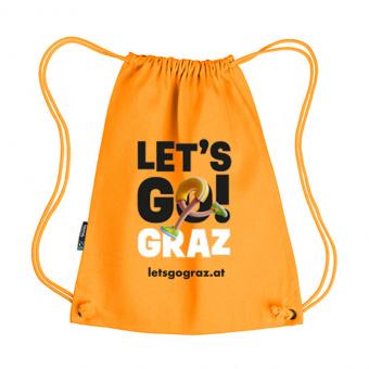 Lets Go Graz Gymbag Orange